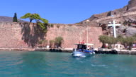 Spinalonga Venetian Fortress Crete video