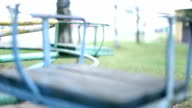 Spinning carousel on Playground video