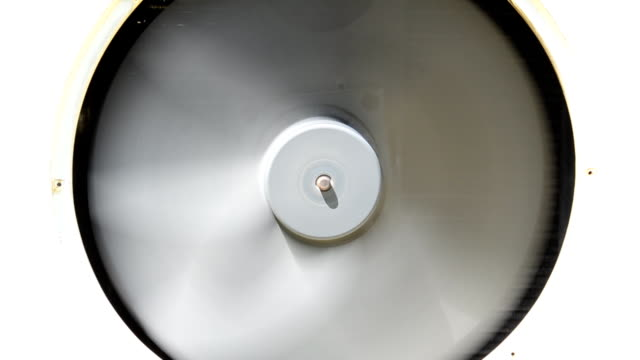 Spinning fan of cooling  system. video