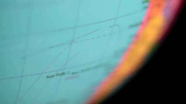 Spinning Globe video