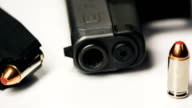Spinning Gun Ammunition and Clip video