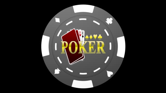 Spinning Poker Chip video
