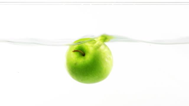Splashing Apple .. video