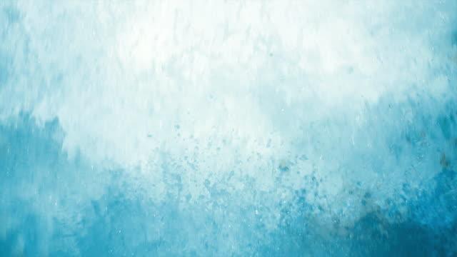 SLO MO Splashing Foam Close-up video