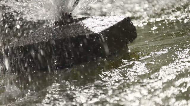Splashing Fountain video