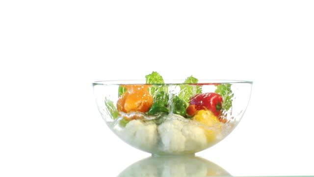 Splashing Vegetables video