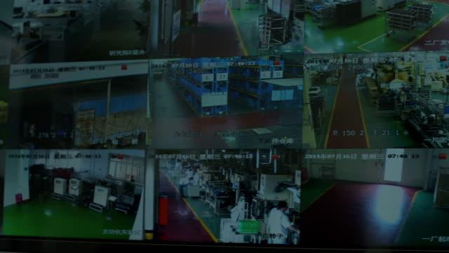 CCTV Split Screen video