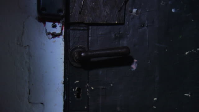 Spooky Old Door Opening video