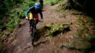 Sport Mountain-Bike Single-Trail Jump Drop Schoenbuch #2 video