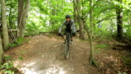 Sport Mountain-Bike Single-Trail Jump Vert Schoenbuch #1 video