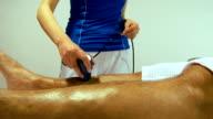 Sport treatment video