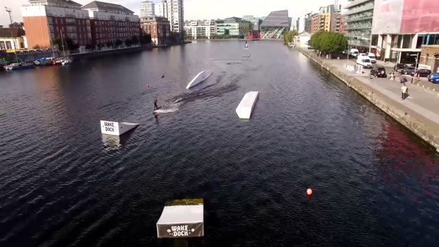 Sportive on Grand Canal Dock 3 video