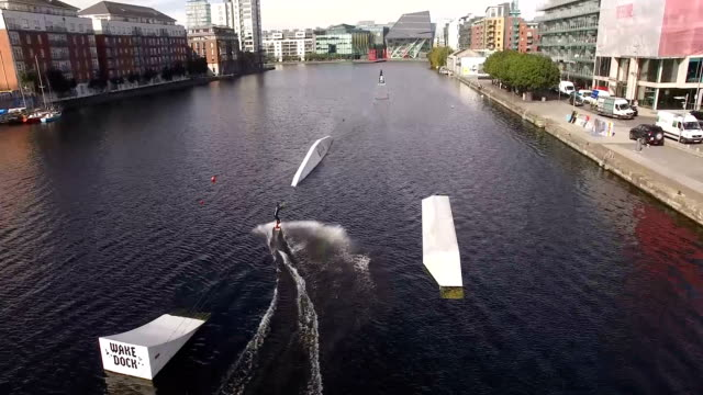 Sportive on Grand Canal Dock 4 video