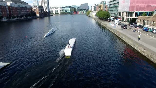 Sportive on Grand Canal Dock 5 video