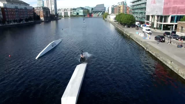 Sportive on Grand Canal Dock 6 video