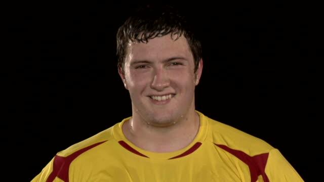 Sportman Smiling video