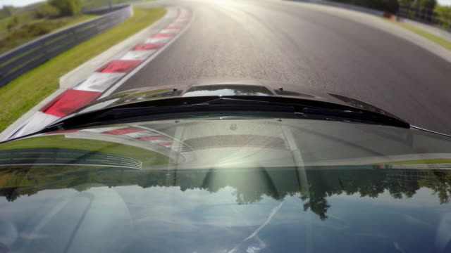 Sports car racing, trying to achieve the perfect lap video