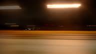 Sports Sedan Highway Driving video