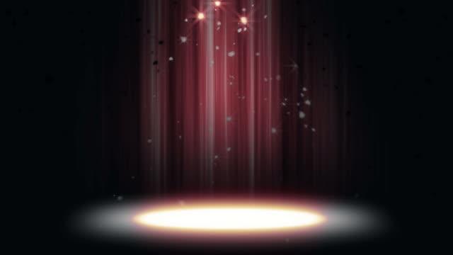 Spotlight Glitter Background Loop video
