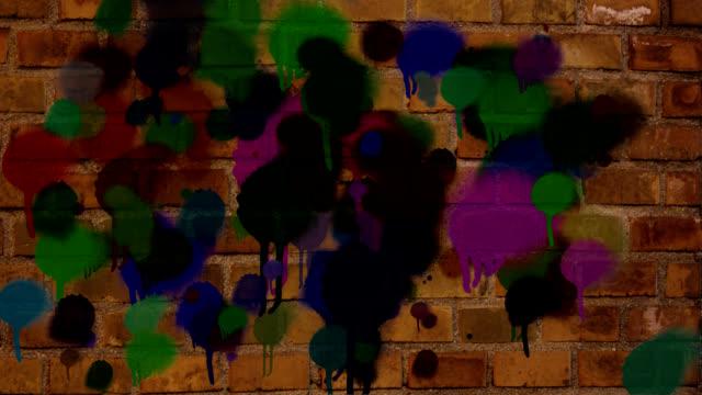 spray paint wall bricks for murals and street art video