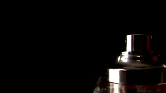 Spraying Cologne, Full HD, Black Background, Isolated, Slow Mo video