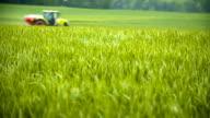 Spreading Pesticides in Springtime video