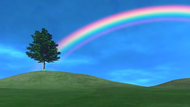 Spring Day, Tree & Rainbow video