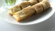 Spring rolls video