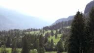 AERIAL Springtime meadows video