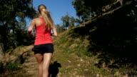 Springtime running video