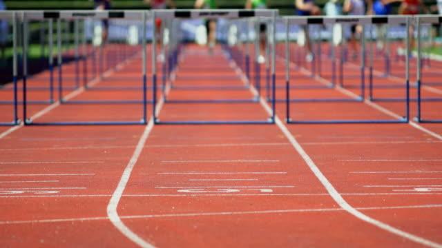 Sprint Hurdle Race For Men video