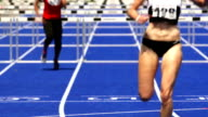 Sprint Hurdle Race For Women video
