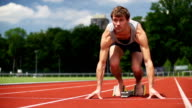 SLOW MOTION: Sprinter video