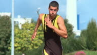 HD SLOW-MOTION: Sprinting video