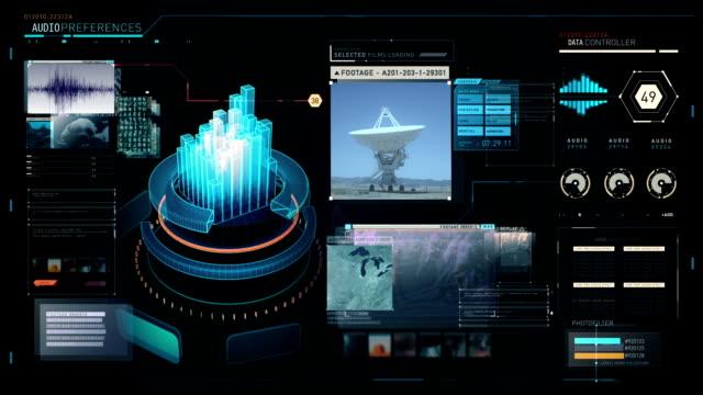 Spy Agency GUI for NSA and FBI video