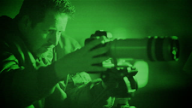 Spy Caught with Night Vision video