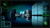 spy satellite in orbit video