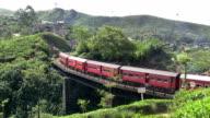 Sri Lanka Passenger Train Nuwara Eliya video