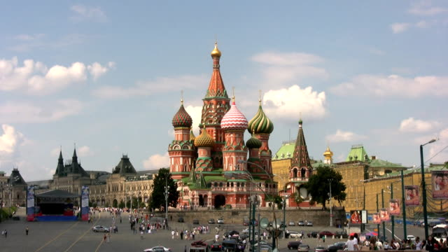 St. Basil Cathedral. video