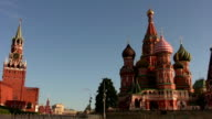 St. Basil's Cathedral in Moscow video