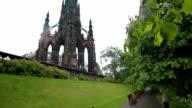 St. Giles Cathedral - Edinburgh, Scotland - Pan video