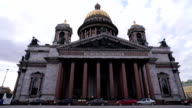 St. Isaac's Cathedral in St. Petersburg video