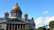 St. Isaac's Cathedral, timelapse video