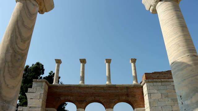St. Jean Basilica and Columns Selcuk Izmir video