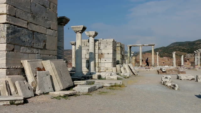 St. Jean Church Ruins Izmir Selcuk video