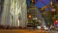 St. Patrick's Cathedral and 5 Avenue video