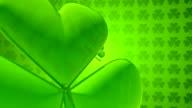 St. Patrick's Day clover video