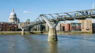 St Paul's and Millennium Bridge video