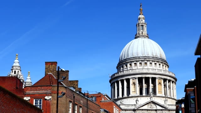 St Paul's Cathedral day time lapse video