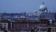St. Peter's Basilica, Rome, Italy (Archival 1960s) video